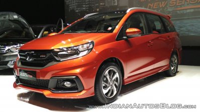 Under Fire From The Ertiga Honda Mobilio To Get A Second Facelift