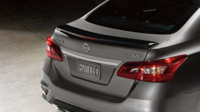 2017 Nissan Sentra SR Midnight Edition rear fascia