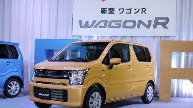 2017 Suzuki Wagon R Hybrid FX front three quarters