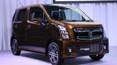 2017 Suzuki Wagon R Stingray Hybrid T front three quarters right side