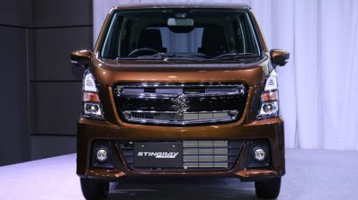 2017 Suzuki Wagon R Stingray Hybrid T front