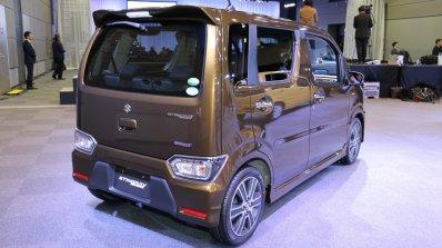 2017 Suzuki Wagon R Stingray Hybrid T rear three quarters