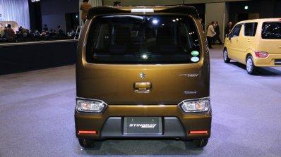 2017 Suzuki Wagon R Stingray Hybrid T rear