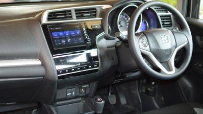 Honda WR-V petrol interior First Drive Review