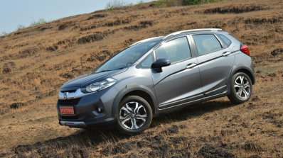 Honda WR-V side First Drive Review