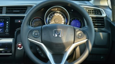 Honda WR-V steering First Drive Review