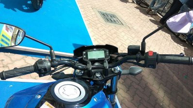 Suzuki Gixxer day in Mumbai instrumentation