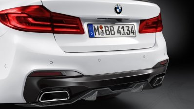 BMW M Performance parts introduced for 2017 BMW 5 Series