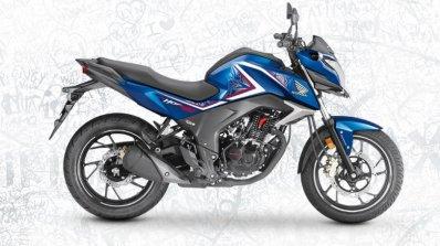 2017 Honda CB Hornet 160R athletic blue