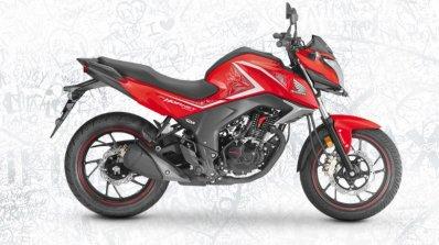 2017 Honda CB Hornet 160R sports red