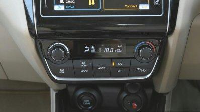 2017 Maruti Dzire HVAC controls First Drive Review
