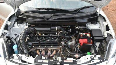 2017 Maruti Dzire engine bay First Drive Review
