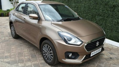 2017 Maruti Dzire front high diesel First Drive Review