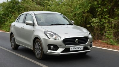 2017 Maruti Dzire front quarter right First Drive Review