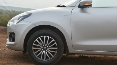 2017 Maruti Dzire front wing First Drive Review