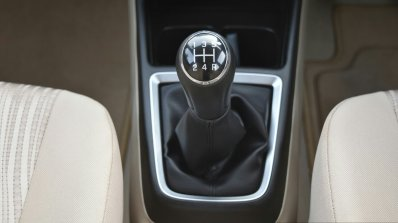 2017 Maruti Dzire gear lever First Drive Review