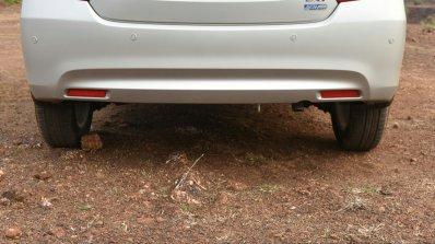 2017 Maruti Dzire rear bumper First Drive Review