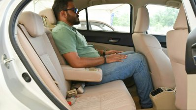 2017 Maruti Dzire seat space First Drive Review