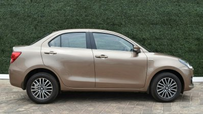 2017 Maruti Dzire side diesel First Drive Review