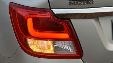 2017 Maruti Dzire taillamp First Drive Review