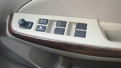 2017 Maruti Dzire window controls First Drive Review