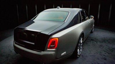 2018 Rolls-Royce Phantom rear three quarters