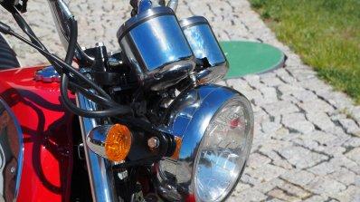 Jawa 350 OHC live images headlamp