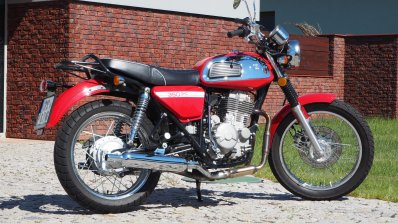 Jawa 350 OHC live images side right