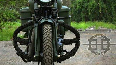 Royal Enfield Bullet 350 Encode by Haldankar Customs front