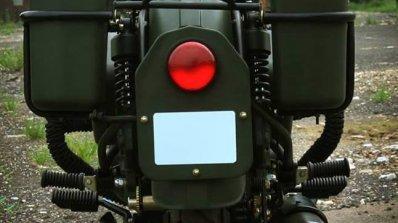 Royal Enfield Bullet 350 Encode by Haldankar Customs rear