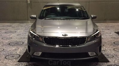 Kia Cerato Forte showcased at Kia dealer roadshow front