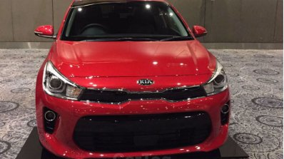 Kia Rio showcased at Kia dealer roadshow
