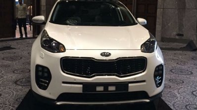 Kia Sportage showcased at Kia dealer roadshow