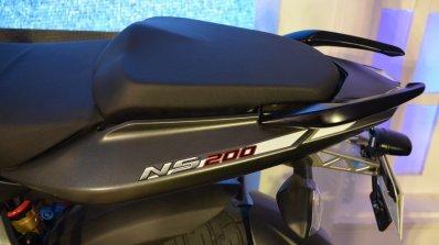 2017 Bajaj Pulsar NS200 at Nepal Auto Show seat