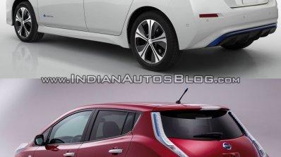 2018 Nissan Leaf Vs 2014 Nissan Leaf Old Vs New