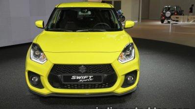 2018 Suzuki Swift Sport front at IAA 2017