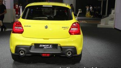 2018 Suzuki Swift Sport rear fascia at IAA 2017