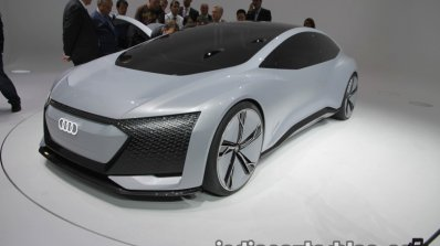 Audi Aicon Concept front three quarters at IAA 2017