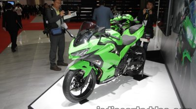 In-line four-cylinder Kawasaki Ninja ZX-25R ready in