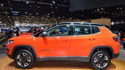 Jeep Compass Trailhawk profile at 2017 Dubai Motor Show