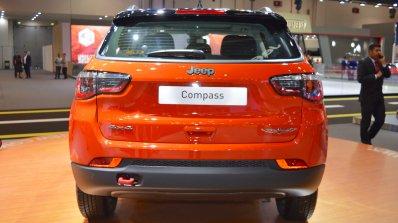 Jeep Compass Trailhawk rear at 2017 Dubai Motor Show