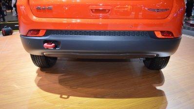 Jeep Compass Trailhawk rear bumper at 2017 Dubai Motor Show