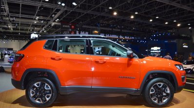 Jeep Compass Trailhawk right side at 2017 Dubai Motor Show
