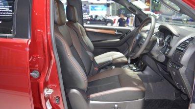 2018 Isuzu D-Max V-Cross front seats at 2017 Thai Motor Expo