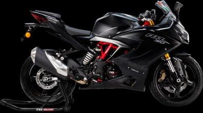 TVS Apache RR 310 Racing Black colour