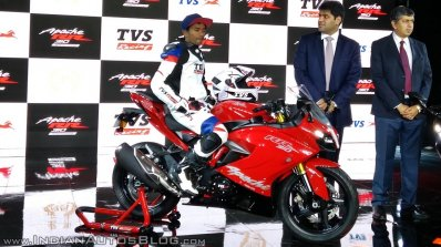 TVS Apache RR 310 launched