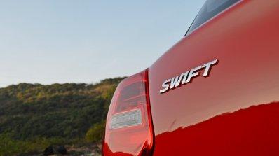 2018 Maruti Swift test drive review badge