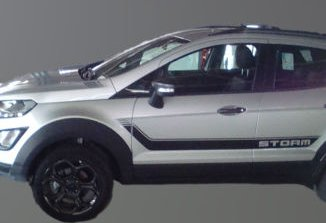 Ford Ecosport Storm 4wd S Exterior Interior Leaked