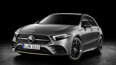 2018 Mercedes A-Class Edition 1 front three quarters left side
