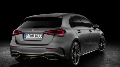 2018 Mercedes A-Class Edition 1 rear three quarters right side